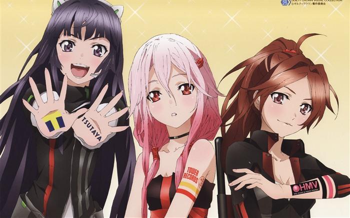 скачать красивые картинки аниме: