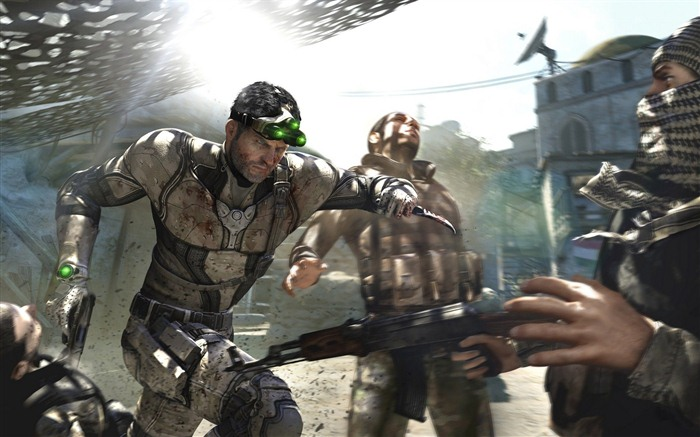Splinter Cell: Lista Negra HD fondos de pantalla #9
