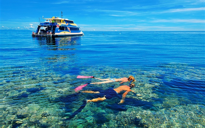 Жилье остров Серре берегу моря