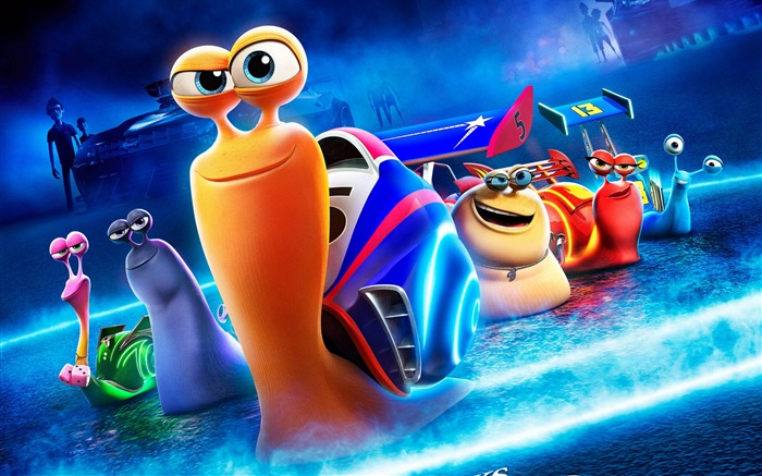 turbo 极速蜗牛3d电影 高清壁纸1