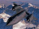 SR-71 Blackbird wallpaper avion de reconnaissance