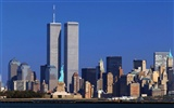 911 Twin Towers Memorial Tapete