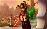 World of Warcraft: Fond d'écran officiel de Burning Crusade (1) #7937
