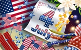 U. S. Independence Day Thema Tapete