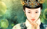 Qing-Dynastie Women Gemälde Wallpaper