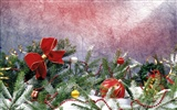 Christmas landscaping series wallpaper (14) #2