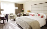 A Spacious Delux Bedroom at The Westbury Hotel.