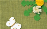 Japanese style hand-painted wallpaper fabric #2