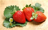HD wallpaper fresh strawberries #5