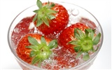 HD wallpaper fresh strawberries #7