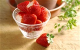 HD wallpaper fresh strawberries #8