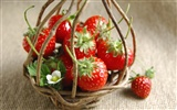 HD wallpaper fresh strawberries #12