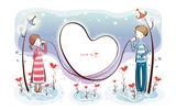 Cartoon Valentine's Day wallpapers (1)