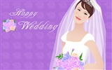 Vector collection of women wallpaper (2)