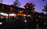 Lijiang Ancient Town Night (Old Hong OK works)