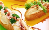 Gourmet dinner wallpaper (2)