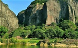 Wuyi jiuqu scenery (photo Works of change) #11