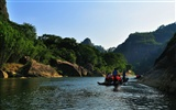 Wuyi jiuqu scenery (photo Works of change) #12