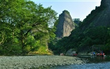 Wuyi jiuqu scenery (photo Works of change) #14
