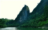 Wuyi jiuqu scenery (photo Works of change) #15