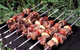 Delicious barbecue wallpaper (4) #13