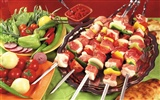 Delicious barbecue wallpaper (5)