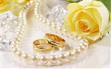 Weddings and wedding ring wallpaper (2)