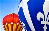 Colorful hot air balloons wallpaper (1)