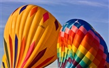Colorful hot air balloons wallpaper (2)