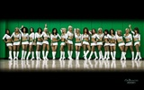 NBA Saison 2010-11, die Celtics Cheerleader Tapete