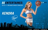 NBA Saison 2010-11, die Magic Cheerleader Tapete