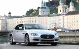 Maserati Quattroporte - 2008 HD wallpaper