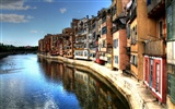 Spain Girona HDR-style wallpapers