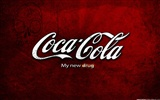 Coca-Cola beautiful ad wallpaper #13