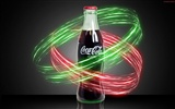 Coca-Cola beautiful ad wallpaper #17