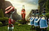 Coca-Cola beautiful ad wallpaper #21