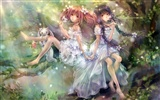 Beautiful anime girls HD Wallpapers (2) #11