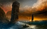 Romantically Apocalyptic creative painting wallpapers (1) #8