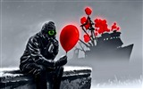 Romantically Apocalyptic creative painting wallpapers (1) #10