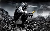 Romantically Apocalyptic creative painting wallpapers (2) #9