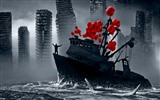 Romantically Apocalyptic creative painting wallpapers (2) #19