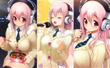 Super Sonico HD anime wallpapers #4