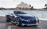 2012 Lexus LF-LC Blue concept HD wallpapers