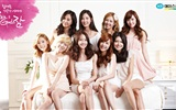 Girls Generation ACE y endosos LG anuncios fondos de pantalla HD