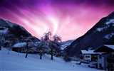 Natural wonders of the Northern Lights HD Wallpaper (2)