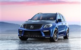 2012 Mercedes-Benz ML 63 AMG Inferno HD Wallpaper