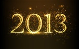 2013 New Year theme creative wallpaper(2)