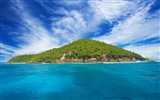 Seychelles Island nature landscape HD wallpapers