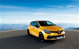 2013 Renault Clio RS 200 yellow color car HD wallpapers