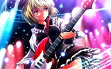 Music guitar anime girl HD wallpapers